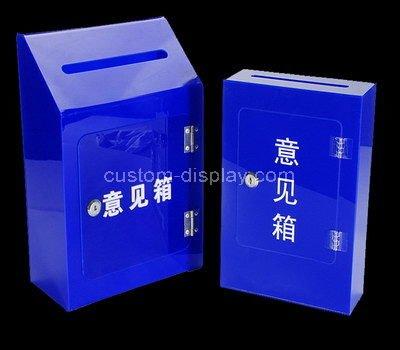 blue suggestion box
