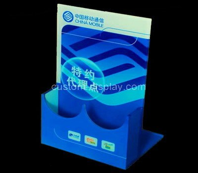 plastic brochure stands