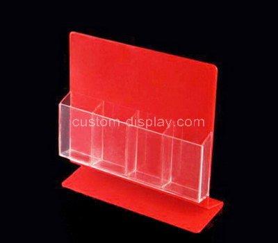 plastic postcard holder