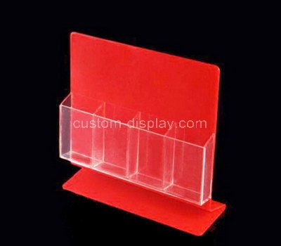 plastic postcard holder