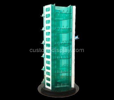 acrylic tiered display shelves