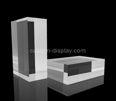 acrylic display cube