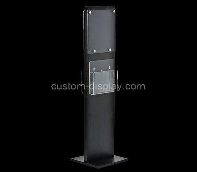 floor stand brochure holder
