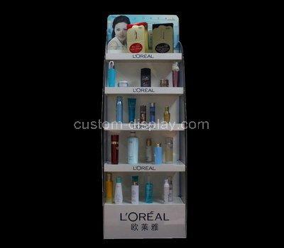 cosmetic display showcase