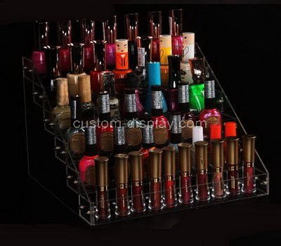 transparent acrylic nail polish holder