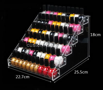lucite no spill nail polish holder