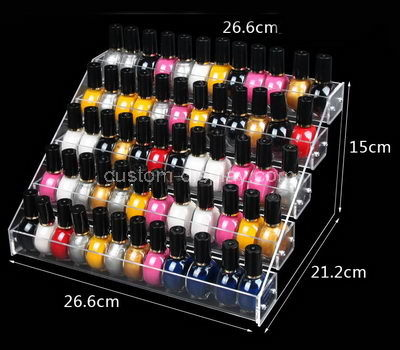 lucite nail polish holder stand