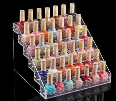 nail polish counter display
