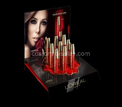 plexiglass lipstick stand display