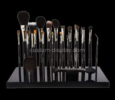custom makeup brush holder