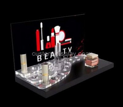 perspex makeup retail display