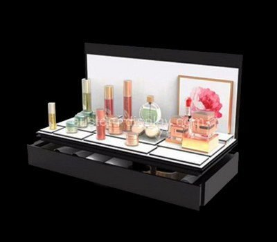perspex retail makeup display stand