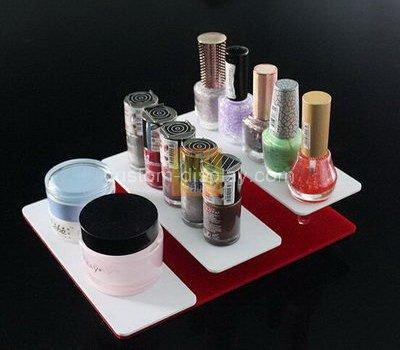 acrylic retail makeup display stand