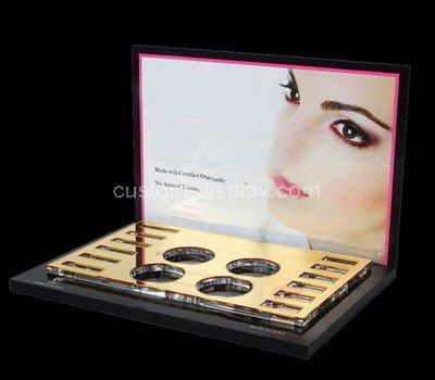 acrylic professional makeup display stands