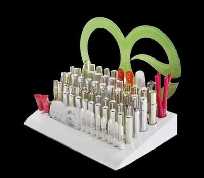 lucite cosmetic display stand