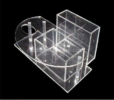 acrylic makeup holder