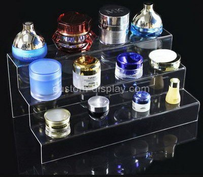 lucite 3 tier countertop display stand