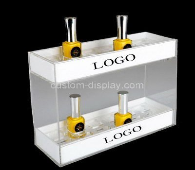 lucite professional makeup display stands