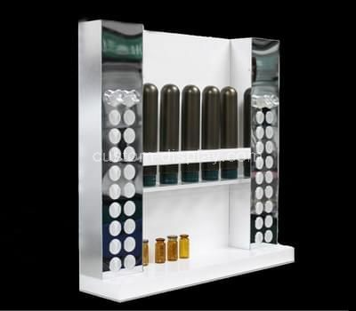 lucite display rack