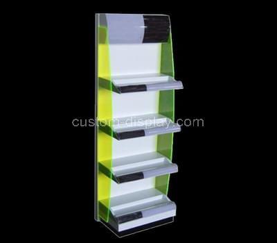 acrylic tiered display rack