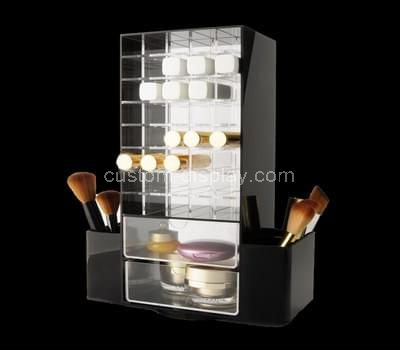 acrylic display cabinet with drawers