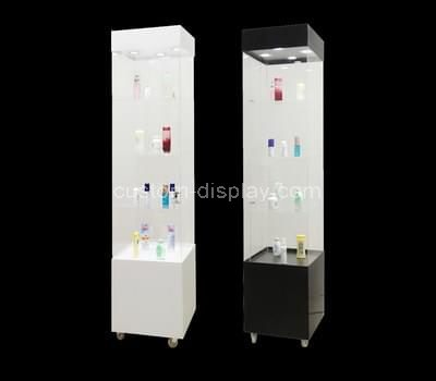 acrylic small corner display cabinet