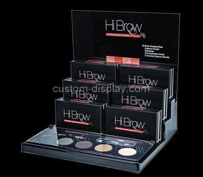 acrylic makeup store display