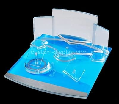perspex display cosmetic product