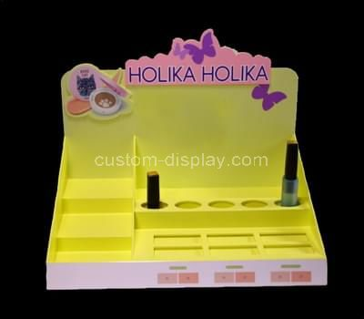 plexiglass display cosmetic product