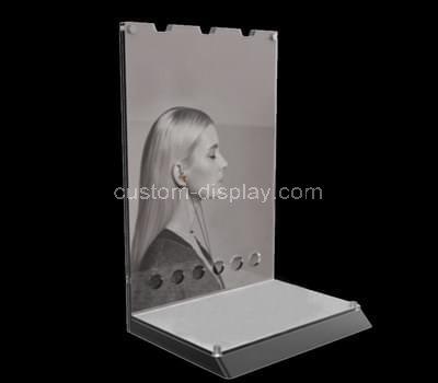 perspex makeup stand
