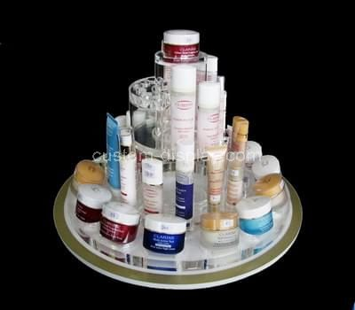 acrylic tiered makeup stand