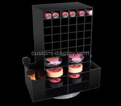 small black display cabinet
