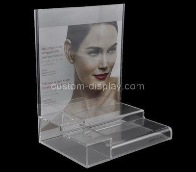 CSM-629-1 plexiglass countertop cosmetic display