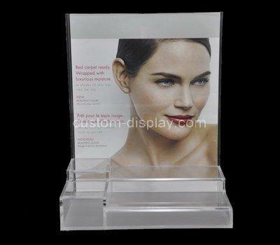 plexiglass countertop cosmetic display