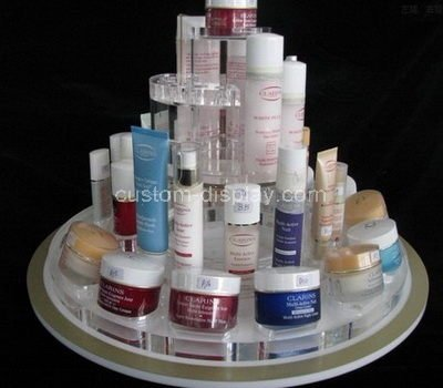 plexiglass cosmetic retail display