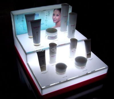acrylic two tier display stand