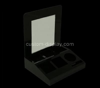 black makeup display