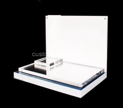 perspex makeup display stand