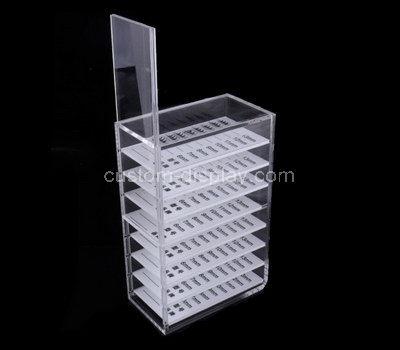 acrylic makeup display shelves