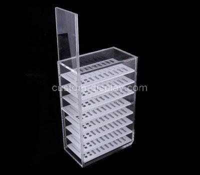 acrylic makeup display shelves
