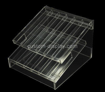 perspex makeup display shelves