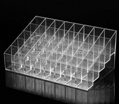 lucite lipstick holder