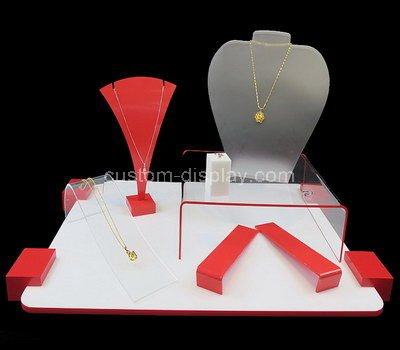 gold jewellery display stands