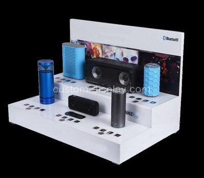 acrylic 2 tier display stand