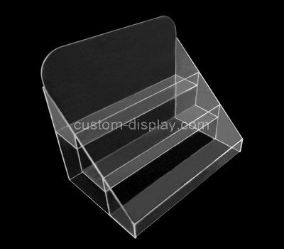 acrylic tiered display stand