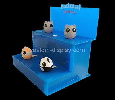 acrylic tiered retail display