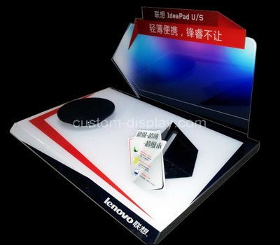 acrylic promotional display stand