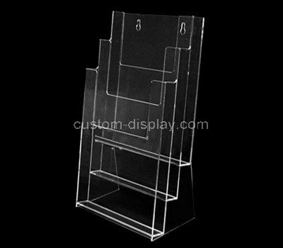 wall mounted transparent a4 brochure holder
