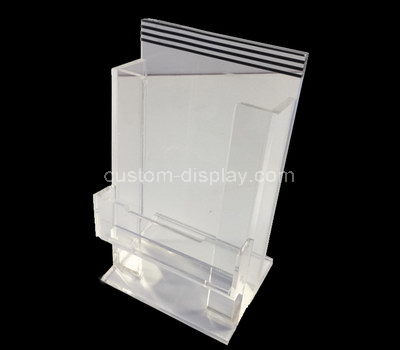 perspex pamphlet holder