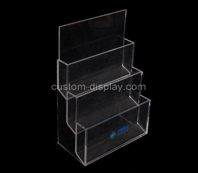 clear perspex leaflet holder